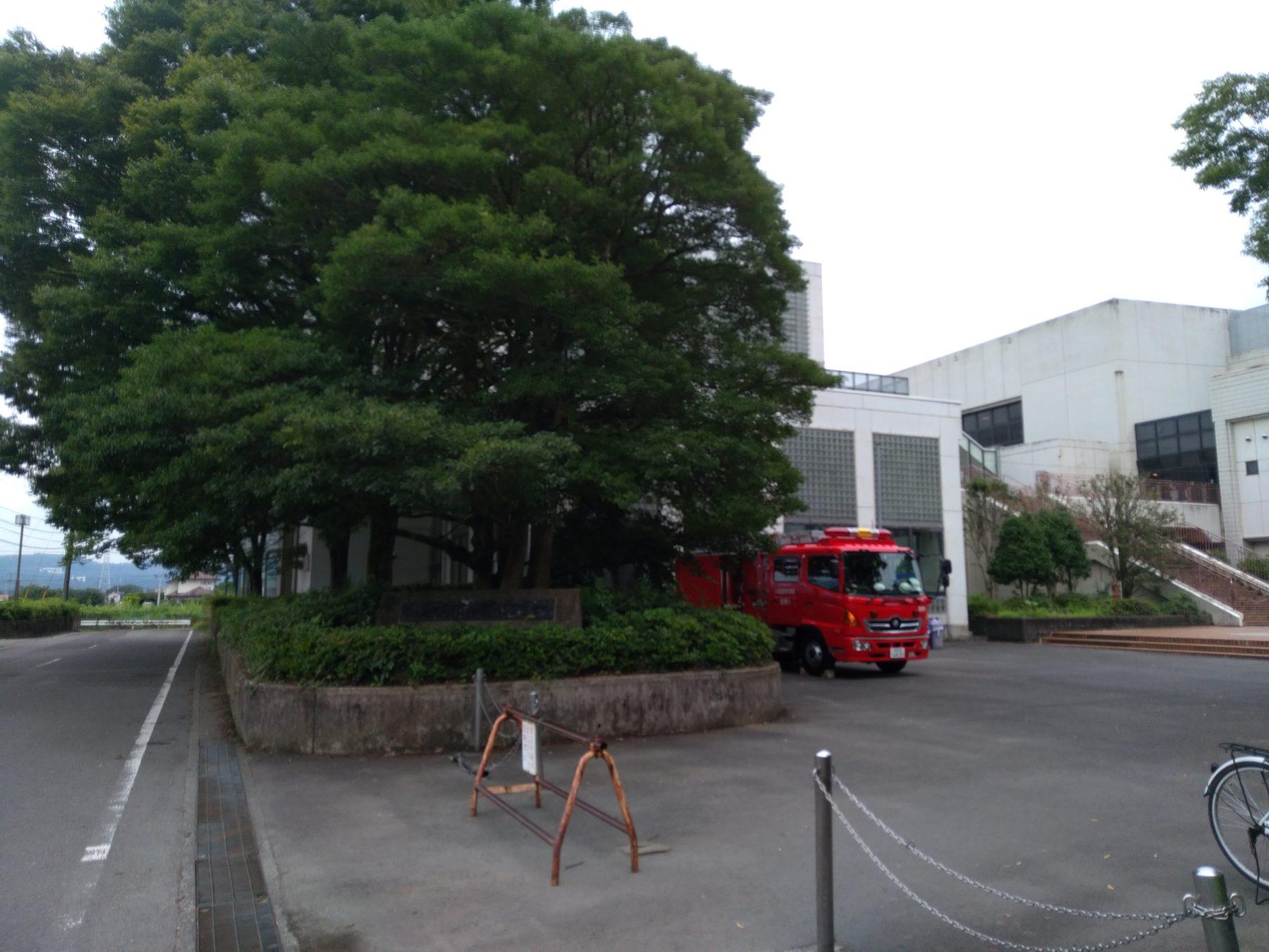 南足柄市体育センターの入り口